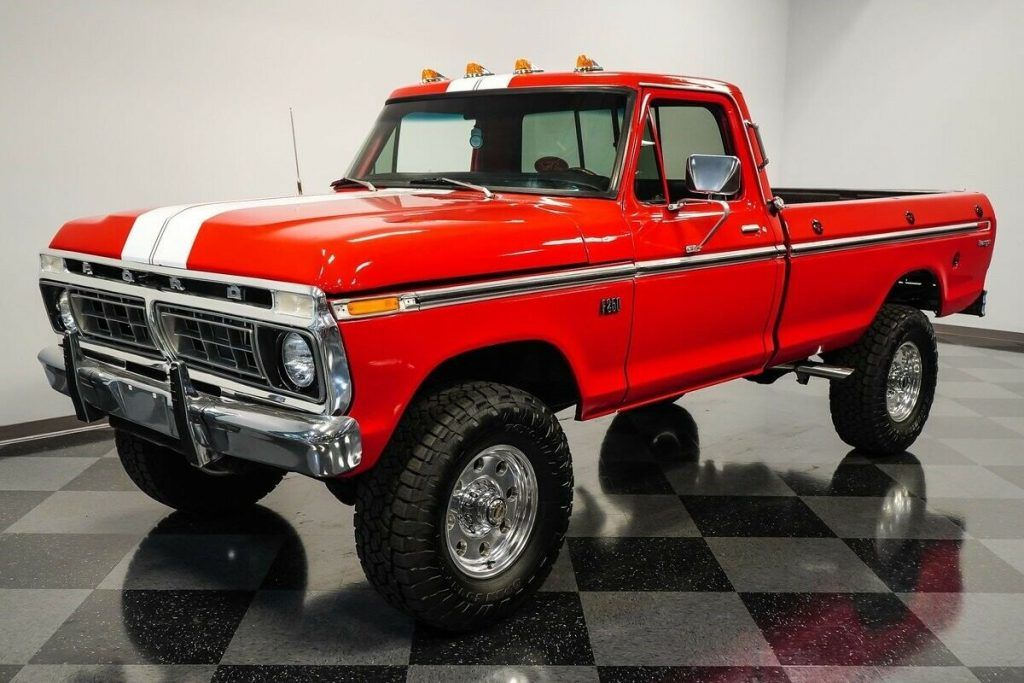 1975 Ford F-250 Highboy 4×4 offroad [classic vintage]
