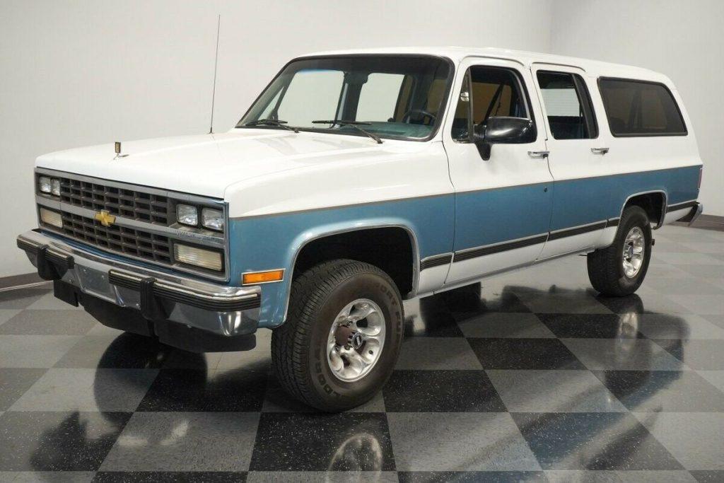 1991 Chevrolet Suburban 4X4 offroad [distinct original]