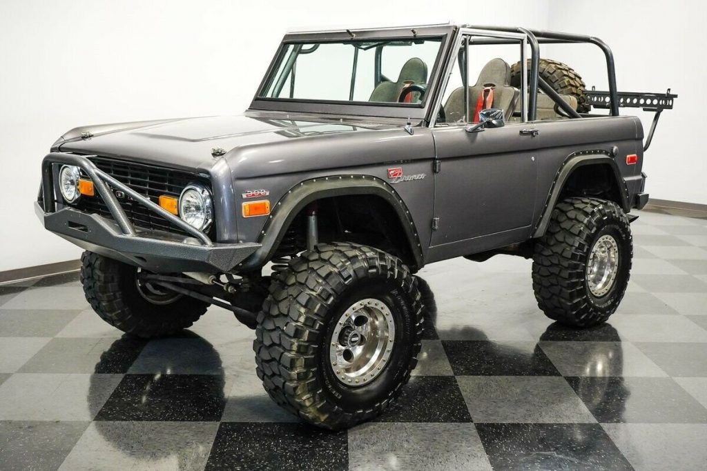 1970 Ford Bronco 4X4 offroad [fuel injected]