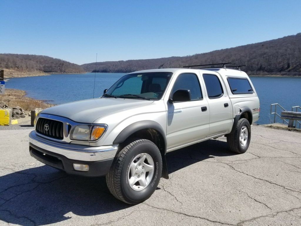 2004 Toyota Tacoma Double Cab offroad [completely new frame]
