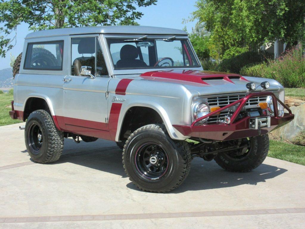 1973 Ford Bronco offroad [Comprehensive Nut & Bolt Frame Off Restoration]