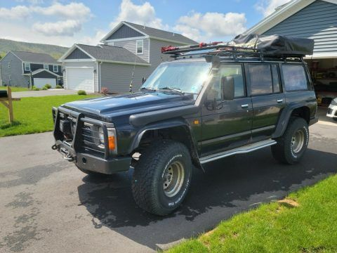 1991 Nissan Patrol Y60 4WD offroad [very rare] for sale