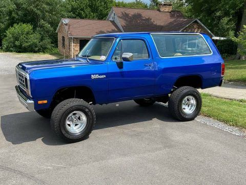 1981 Dodge Ramcharger [perfectly restored] for sale