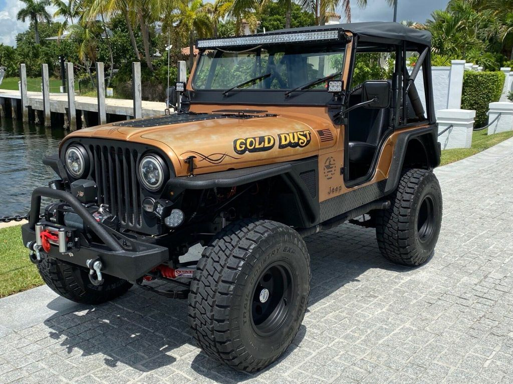 1978 Jeep CJ 5 4×4 offroad [incredible, reliable and bulletproof]