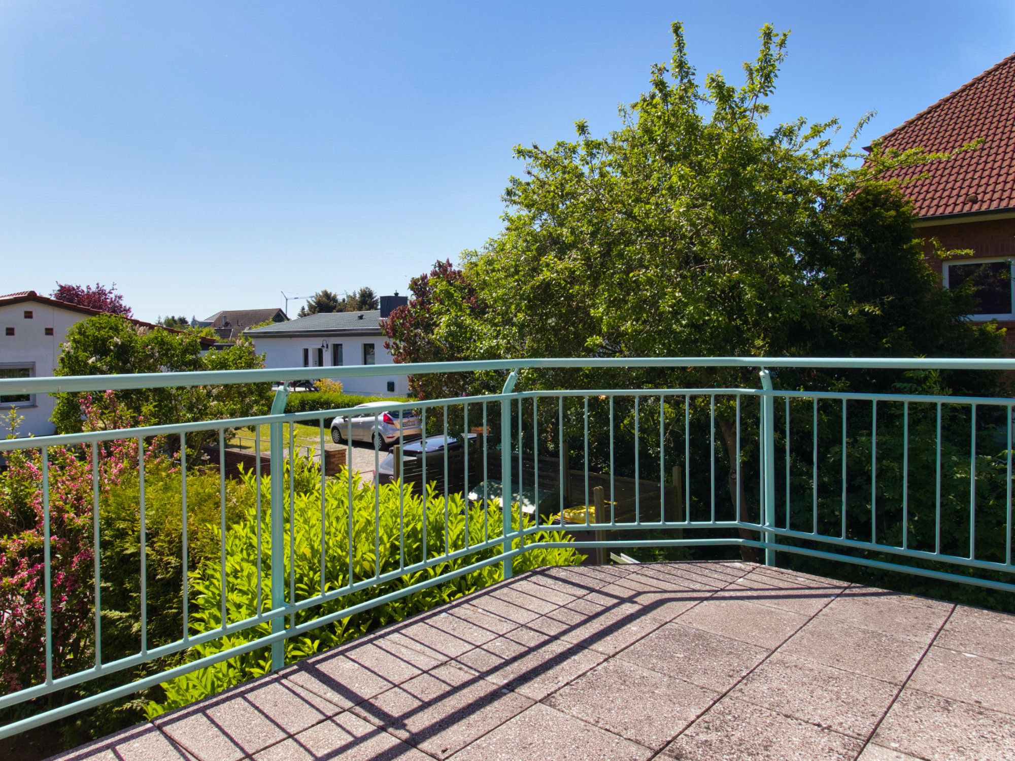Blick auf den 2. Balkon