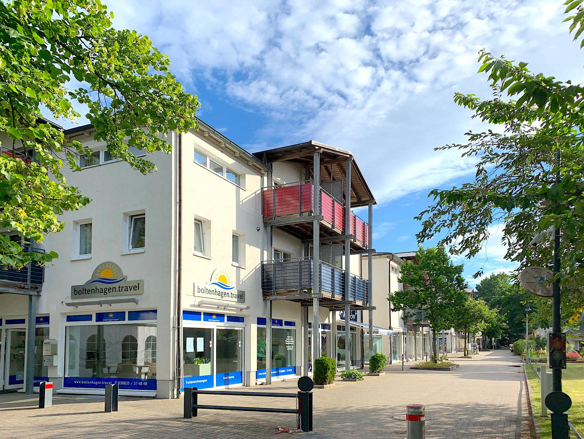 Außenansicht von Strandpalais in Boltenhagen