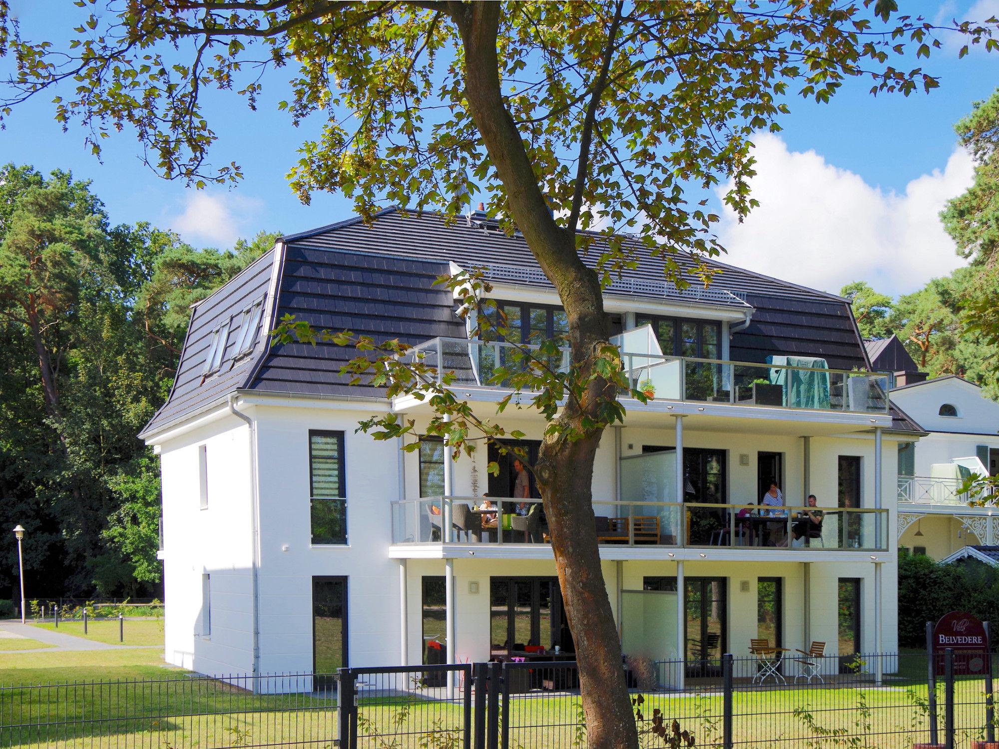 Außenansicht von Villa Belvedere in Boltenhagen