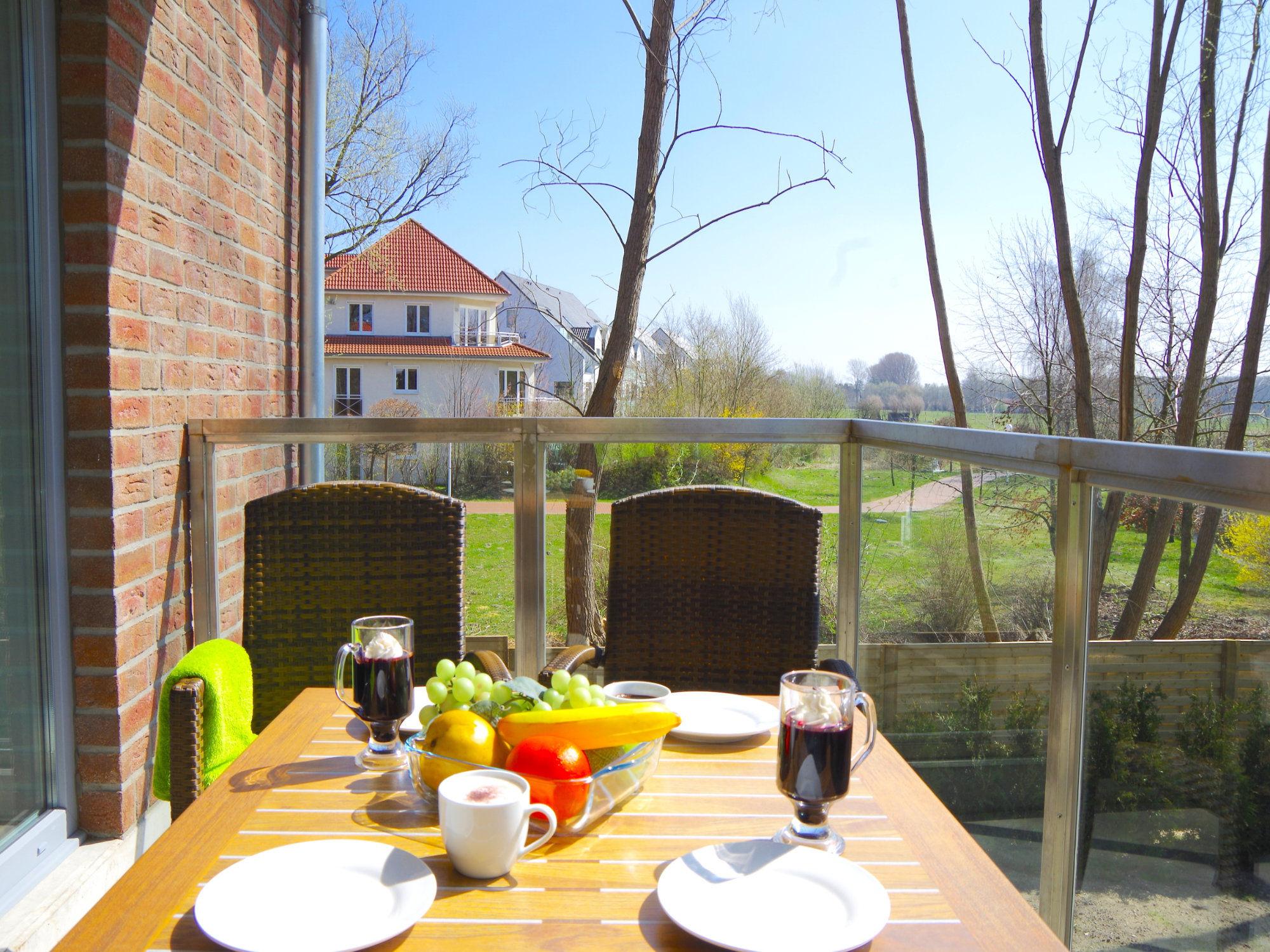 Innenaustattung von der Ferienwohnung Weidenblick Ferienwohnung 05 im Ostseebad Boltenhagen