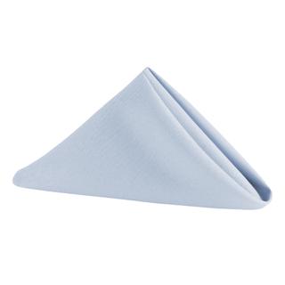 20x20 Dusty blue polyester napkins