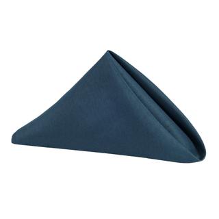 19x19 navy polyester napkins
