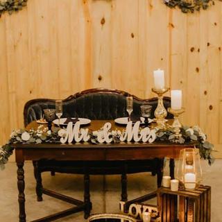 Brown wood table