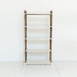 Rustic 5 Tier Shelf
