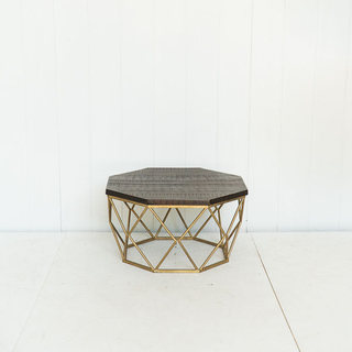 Geometric Base Coffee Table