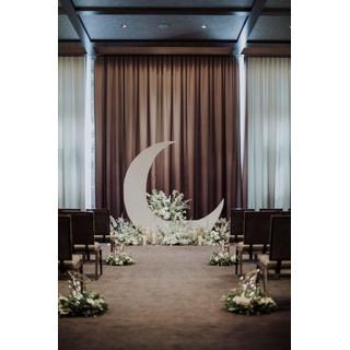 Moon Backdrop Event Crescent Moon