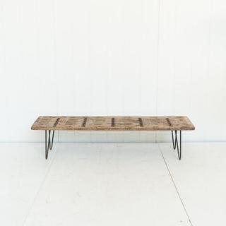 Reclaimed Antique Door Coffee Table