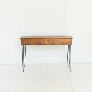 Modern Style Console Table With Hairpin Legs
