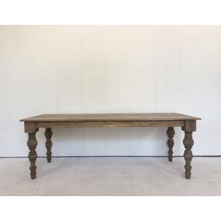 Farmhouse Table Wooden Handmade Rustic Table