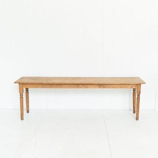 Reclamined Farmhouse Style Wood Table