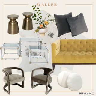 Modern Lougne Velvet Sofa