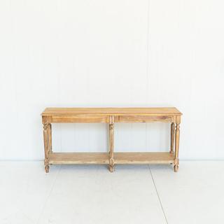 Wooden Buffet Table