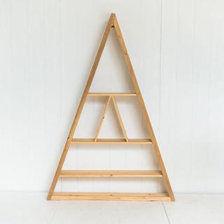 Modern Minimal Triangle Ceremony Backdrop