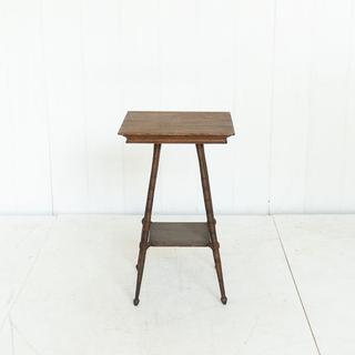 Antique Walnut Square Table