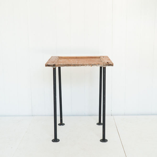 Rustic Reclaimed Wood Cocktail Table