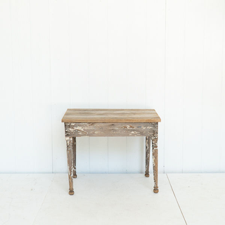 Industrial Rustic Distressed Wood Table