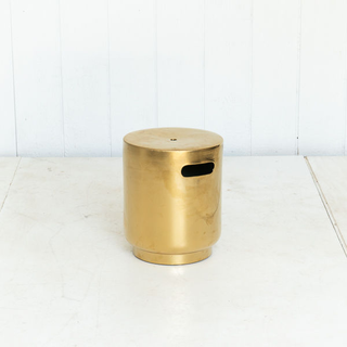 Brass Side Table Plant Stand