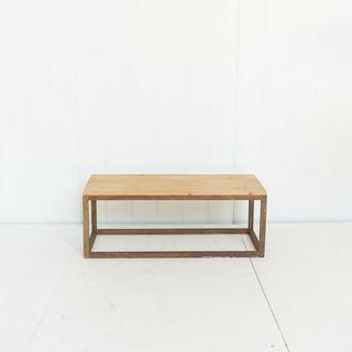 Modern Rectangular Wooden Coffee Table