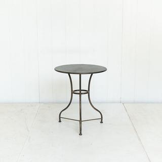 Black Round Bistro Table