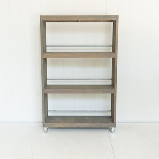 Grey Washed Wooden Shelf