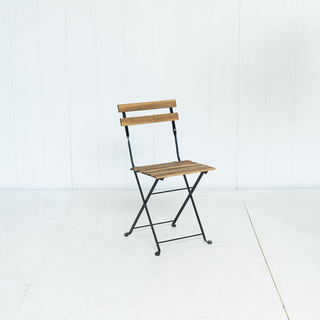 Wood Slated Folding Chair