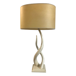 Twisted Horn Table Lamp