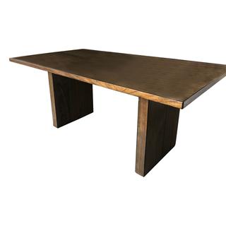 ebony walnut dining table