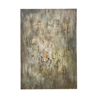 olive warm green neutral painting artwork