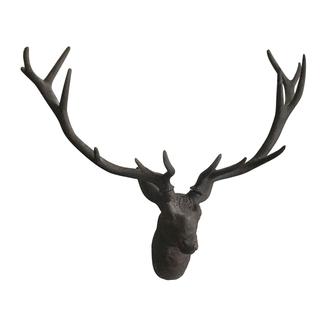 stag deer resin head wall hanging