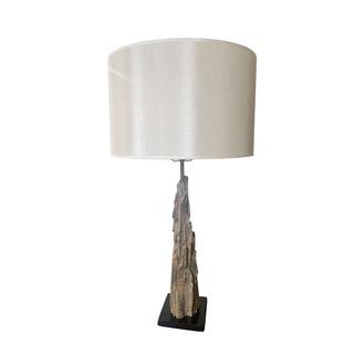 Brustalist Wood Table Lamp driftwood
