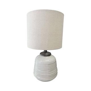 Small White Milk Glass Lamp