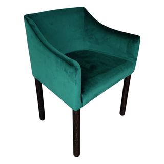 emerald green velvet chair