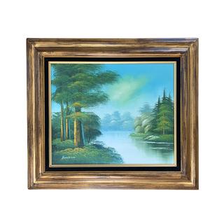 Landscape Painting Artwork Gild Wood Frame