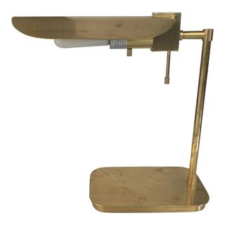 Brass L desk Lamp
