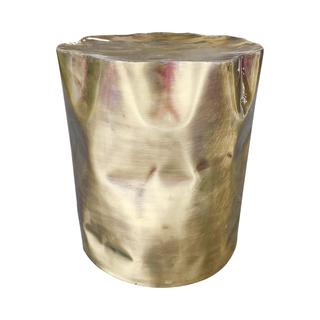 brass barrel table