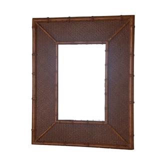 Bamboo Mirror mirrors diptych