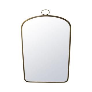 Brass Bedside Mirrors.
