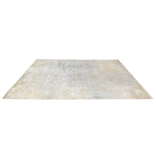 Neutral gold tone rug