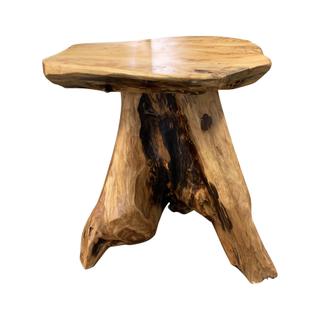 driftwood small stool medium wood