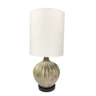 Concrete Table Lamp, with USB inputs - Pair