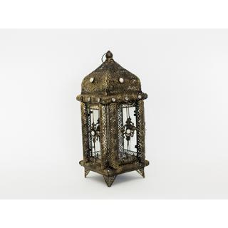 detailed brass lantern