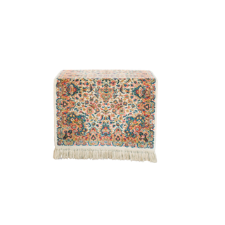 small floral vintage rug